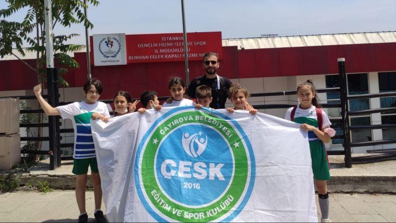 ÇESK'ten yüzmede büyük başarı
