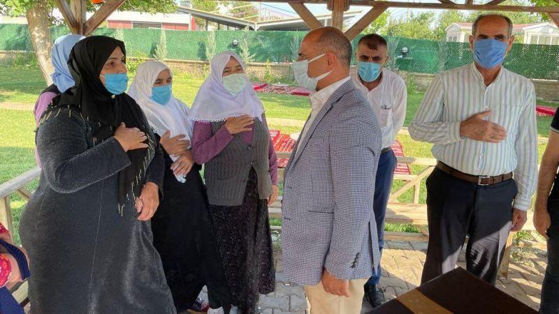 Başkan Söğüt'ten Diyarbakır annelerine ziyaret