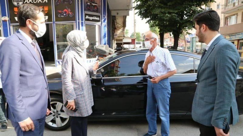 Milletvekili Katırcıoğlu sahadan ayrılmıyor