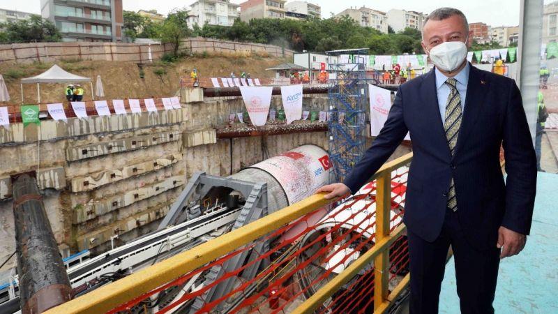 """Büyükakın: """"Metro bir günde 330 bin yolcuya hizmet verecek"""""""