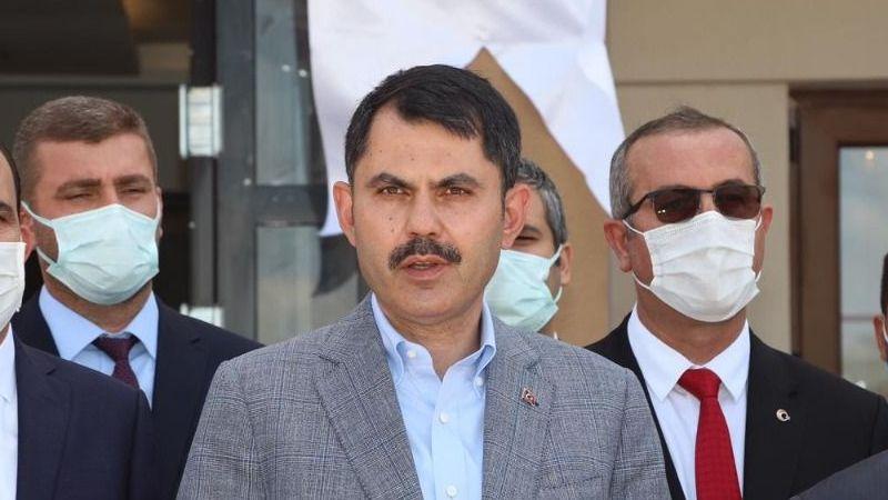 """Bakan Kurum: """"Amacımız,Marmara'yı koruyacak adımları kararlı bir şekilde atmak"""""""