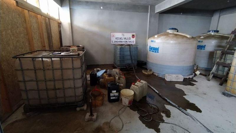4 bin litre kaçak akaryakıt piyasaya sürülmek üzereyken ele geçirildi