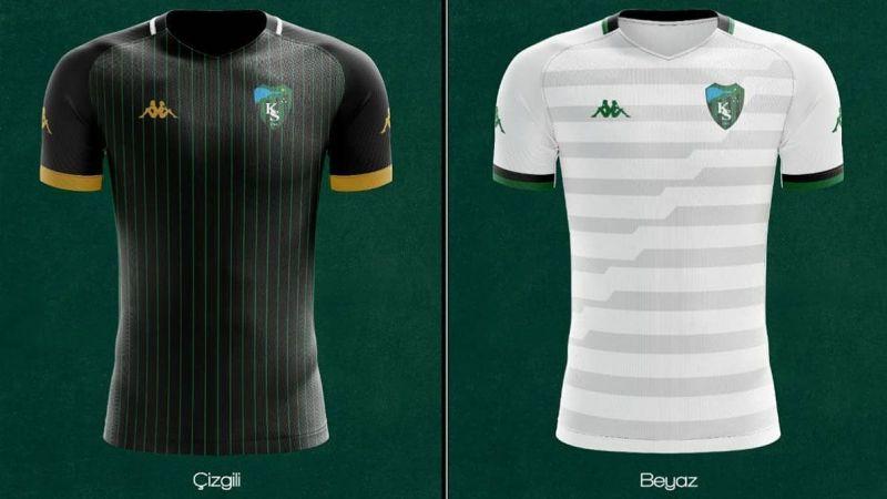 İşte Kocaelispor'un yeni sezon formaları!