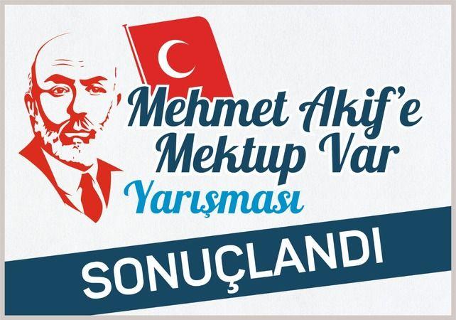 """""""Mehmet Akif'e Mektup Var"""""""