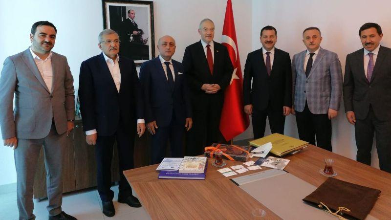 Başkan Özlü'den Bosna ziyareti