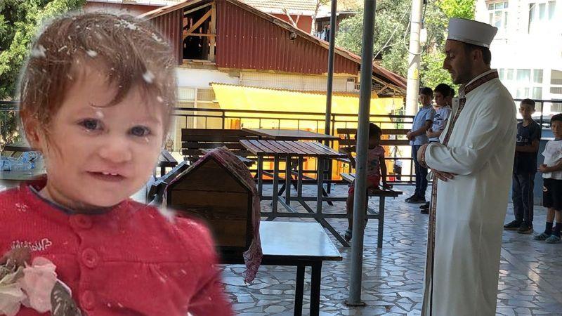 Otobüsün çarptığı 3 yaşındaki Emine Nur, son yolcuğuna uğurlandı