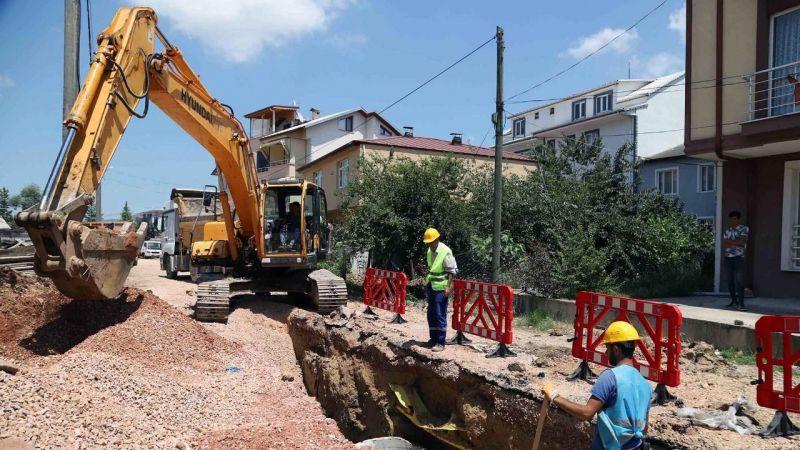 Kartepe'de önemli altyapı projesi başladı