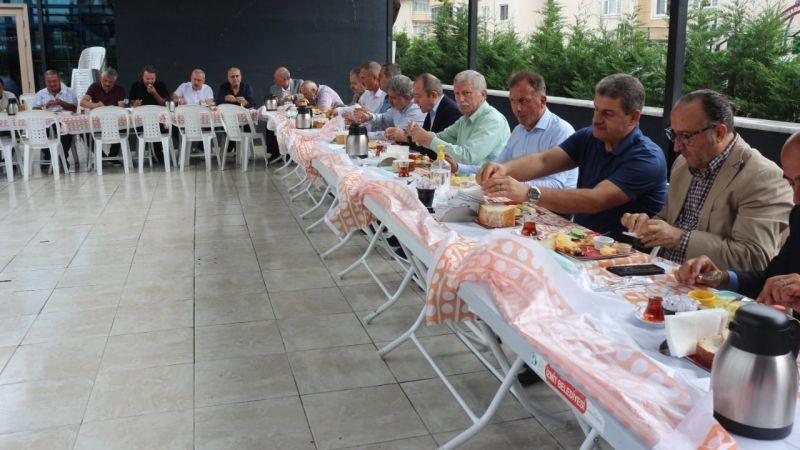 Trabzonlular kahvaltıda buluştu