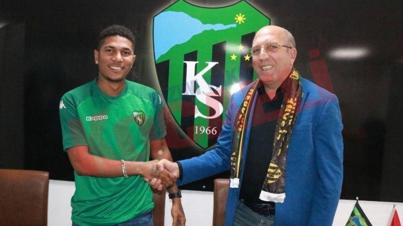 Kocaelispor Tisdell ile sözleşme imzaladı
