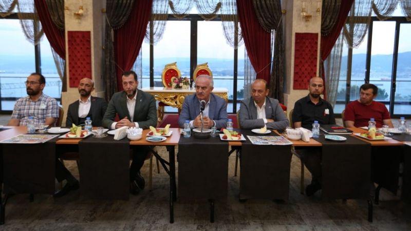 Zeki Aygün, MHP yönetimi ile bir araya geldi