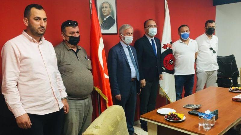 Kaymakam Karabulut'tan Gölcükspor'a ziyaret