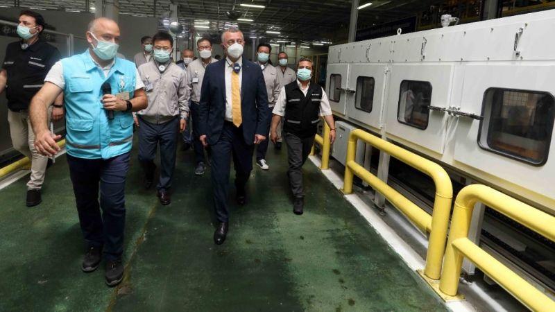 Büyükakın'dan Hyundai'e tebrik ziyareti