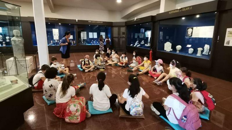Çocuklar müze kültürünü yaşayarak öğreniyor