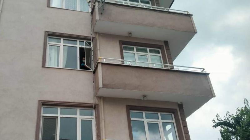 3. kattaki evin penceresinden düşen çocuk yaralandı