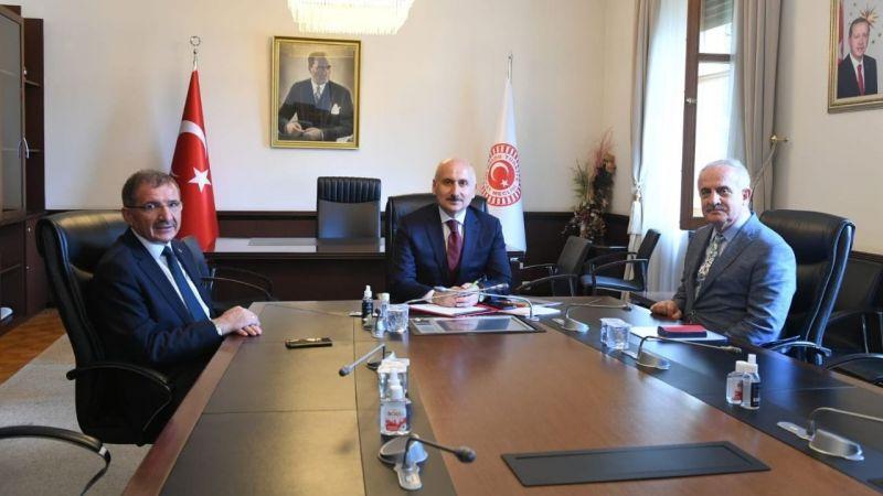 Başkan Aygün'den Ankara temasları