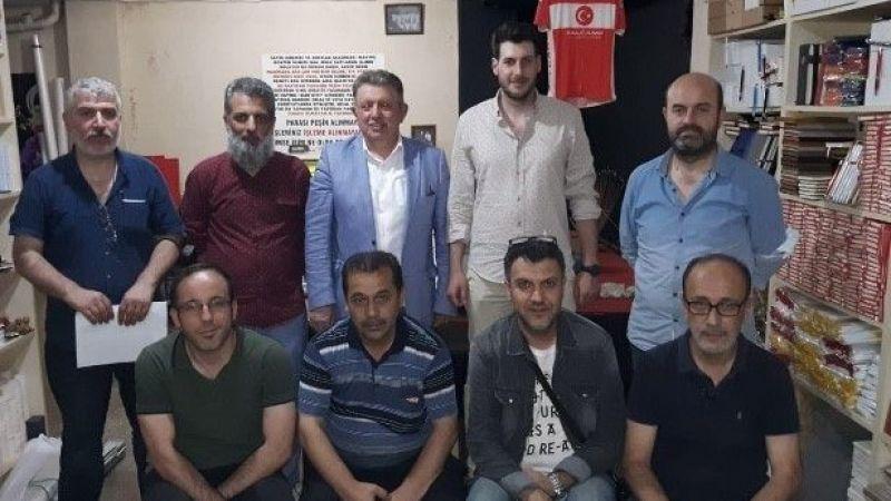 Matbaacılarda başkan Mehmet Akif Şen