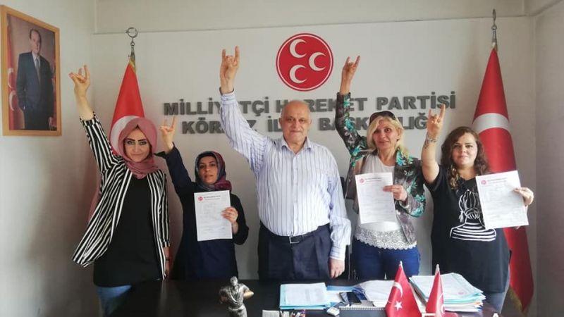 MHP'ye yeni katılımlar