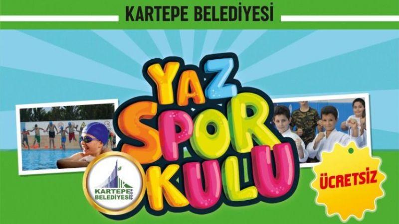 Kartepe'de yaz spor okulları kayıtları başladı