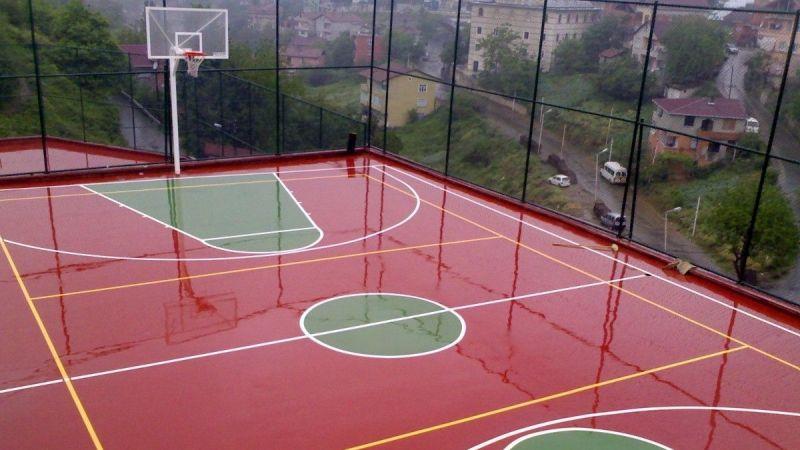 Basketbol ve voleybol sahası yaptırılacak
