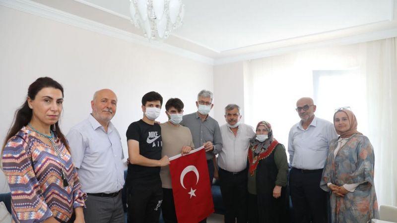 Ellibeş, 15 Temmuz şehit yakınları ve gazileri ziyaret etti
