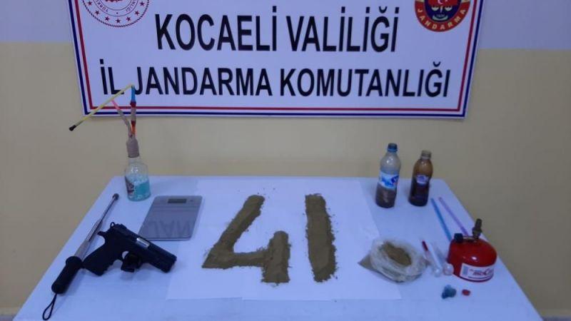 Uyuşturucu tacirine jandarmadan operasyon: 1 gözaltı