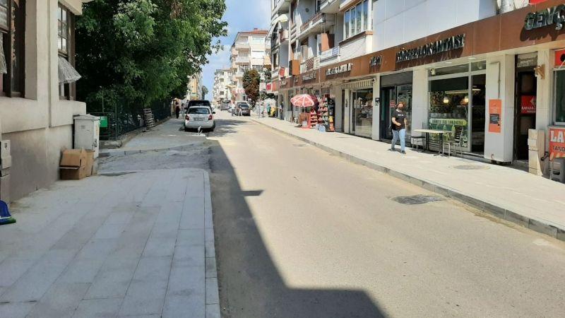 İnönü ve Atatürk Caddeleri yenileniyor