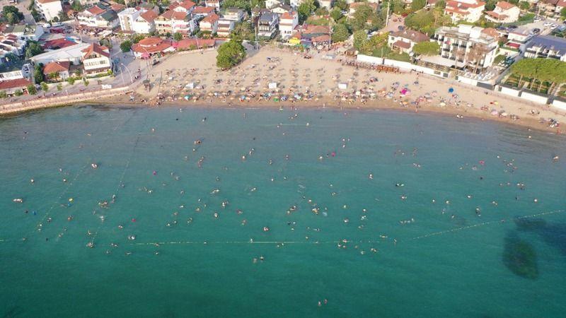 Kandıra'da denize girmek yine yasaklandı