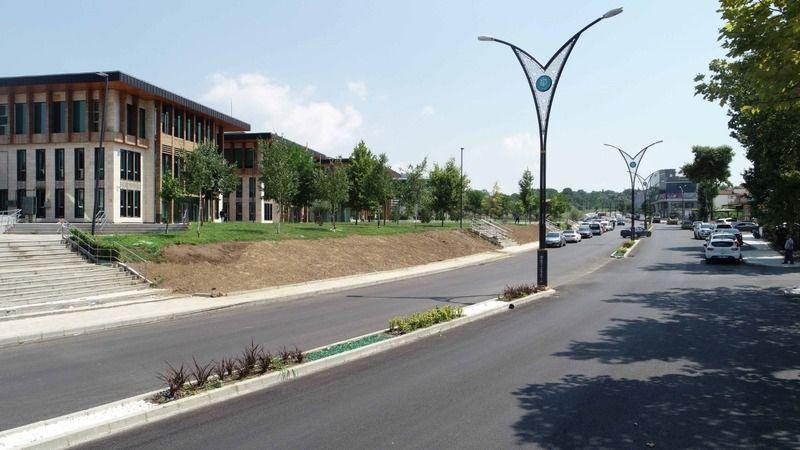 Selahhattin Eyyübi Caddesi'nde aşınma asfaltı serildi