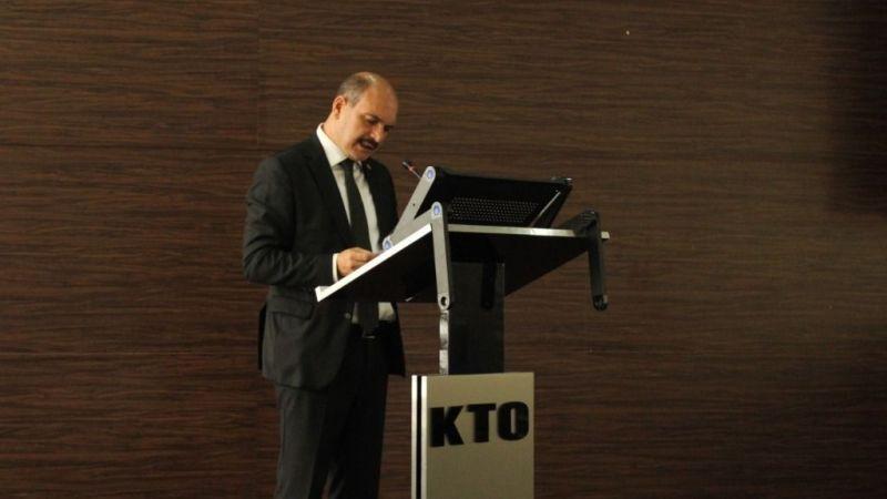 KTO meclisinde Öztürk'ten aşı çağrısı