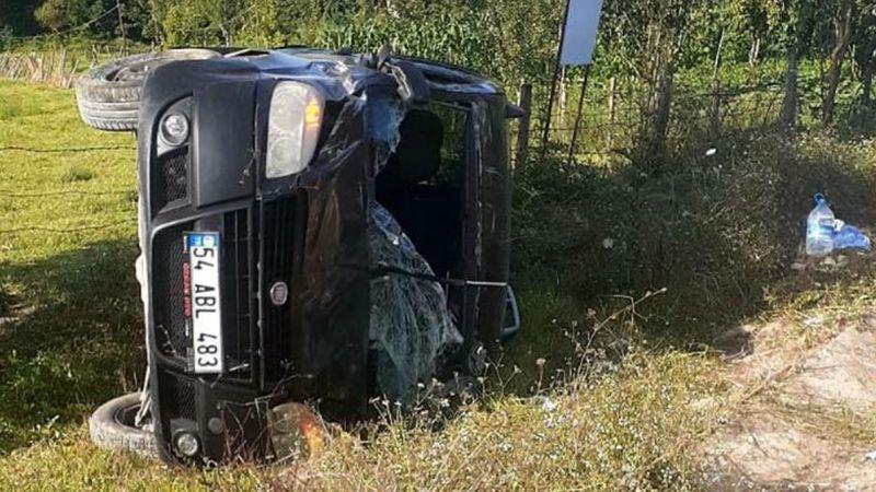 Kandıra yolunda kaza: 3'ü çocuk 6 yaralı