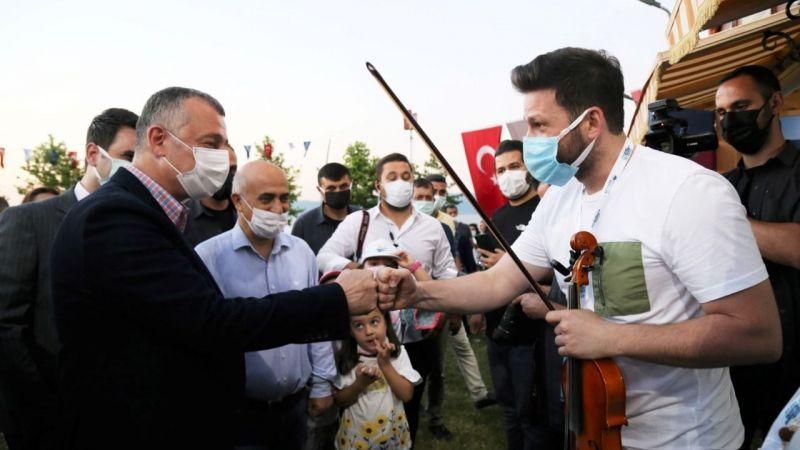 Büyükşehir'in yerel müzisyenlere desteğe devam ediyor