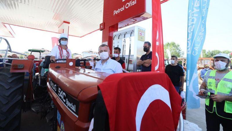 Çiftçiye destek toprağa bereket: Büyükşehir'den 2 milyon litre akaryakıt desteği!