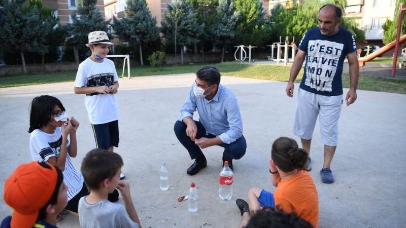 Çocuklar istedi Başkan Kocaman talimat verdi