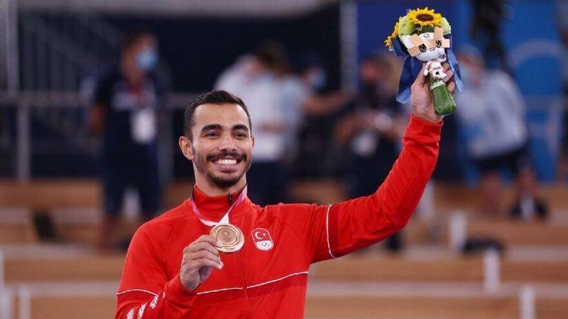 Cimnastikte ilk olimpiyat madalyası!