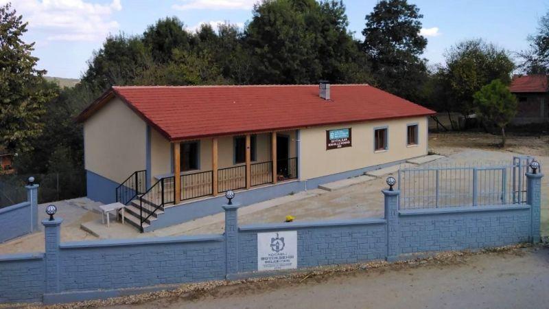 57 yıllık atıl okul, sosyal tesise dönüştürüldü