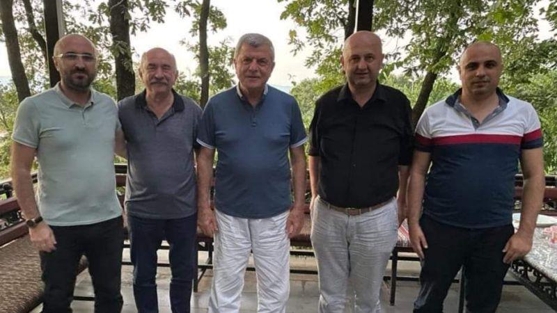 Başkanlardan Karaosmanoğlu'na tebrik ziyareti