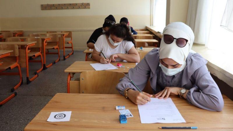 Çınar Çocuk Evi öğretmen adayları yazılı sınavda ter döktü