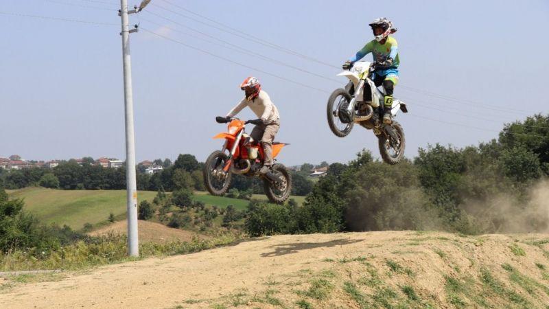 Akmeşe Motocross Parkurunda antrenman turları başladı