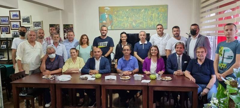 Makedonyalılara CHP'den ziyareti