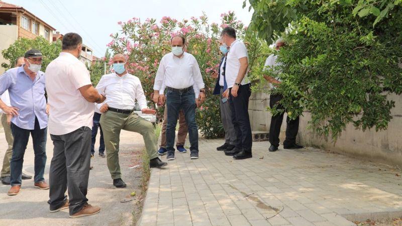 Başkan Söğüt'ten Çamlıtepe çıkartması