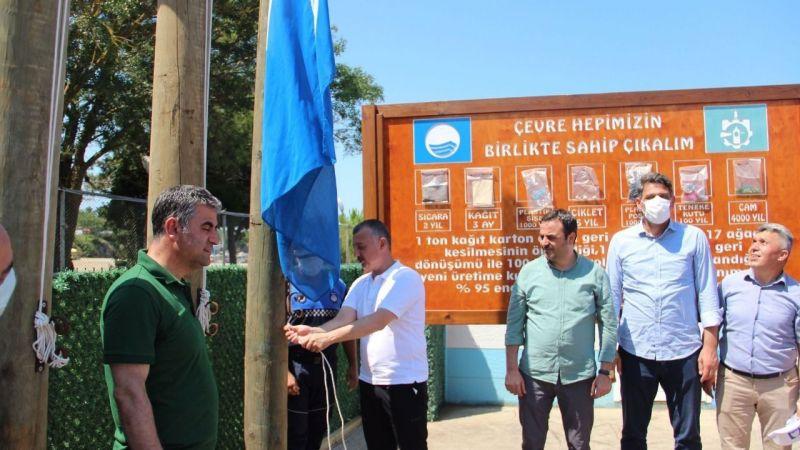 Kocaeli'nin 7. mavi bayrağı Kovanağzı plajına
