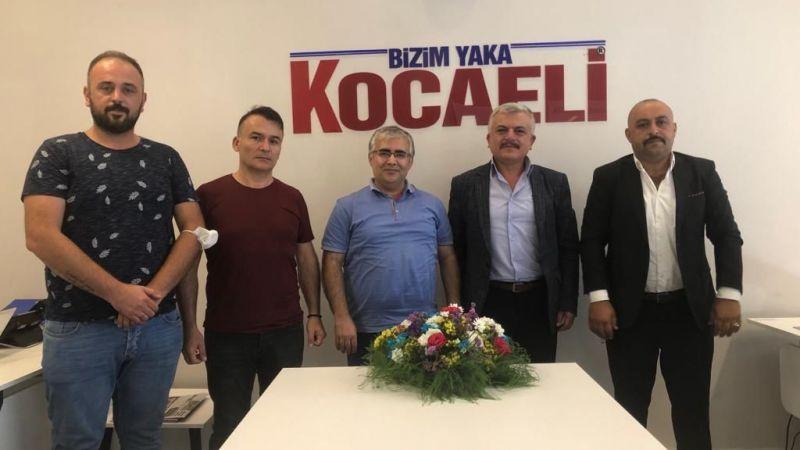 """MHP'li Batı'dan gazetemize ziyaret: """"Tecrübemizle desteğe hazırız"""""""