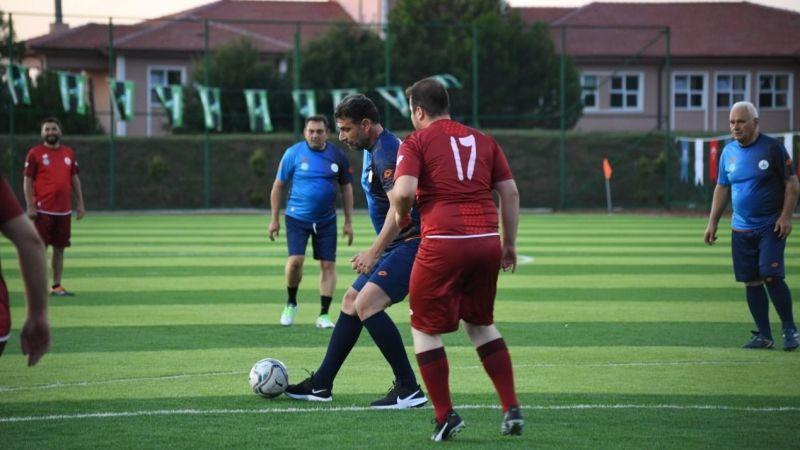 Kartepe'de Şöhretler Futbol turnuvası