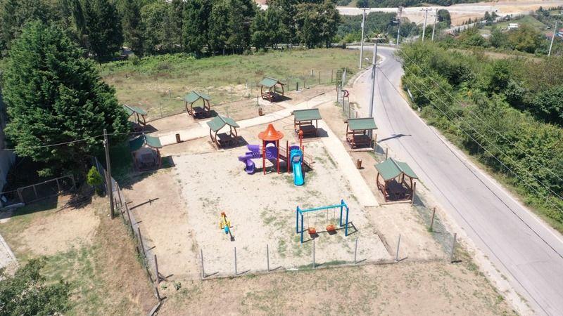 Çubukluosmaniye parkı tamamlandı