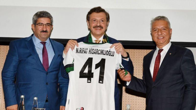 KOTO, TOBB Başkanı Hisarcıklıoğlu'nu ağırladı