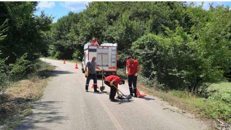 Büyükşehir 'A Takımı' ekipleri çalışmalarını sürdürüyor