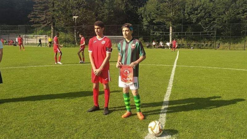 Körfez İlçesi Birlikspor, Katar ile oynadı