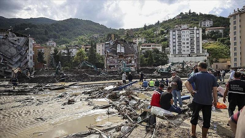 Batı Karadeniz'de selle mücadele: 40 kişi hayatını kaybetti