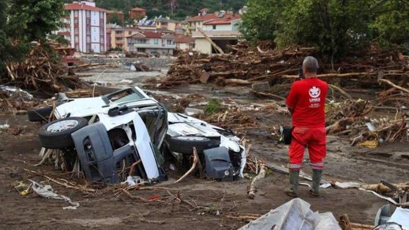Karadeniz'de sel felaketi: 3 ilde 70 can kaybı