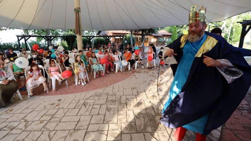 Başiskele'nin mahalleleri çocukların sesleriyle şenlendi